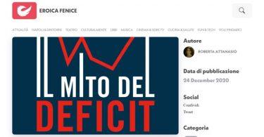 Il mito del deficit e la teoria monetaria moderna