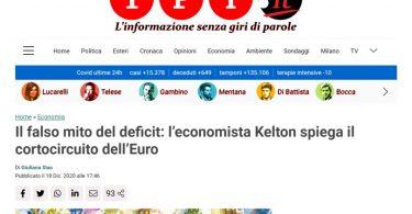 Il falso mito del deficit: l'economista Kelton spiega il cortocircuito dell'Euro