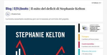 Il mito del deficit di Stephanie Kelton