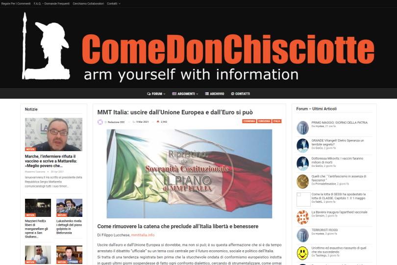 MMT Italia: uscire dall'Unione Europea e dall'Euro si può