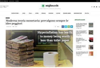 Moderna teoria monetaria: prevalgono sempre le idee peggiori