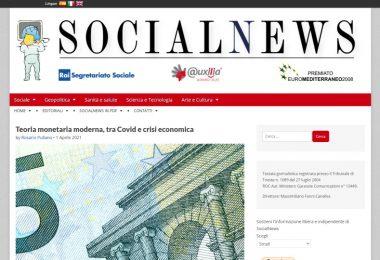 Teoria monetaria moderna, tra Covid e crisi economica